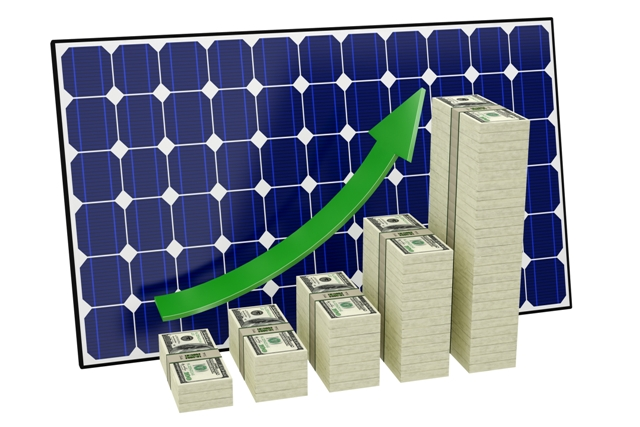 solar-panel-stack-money