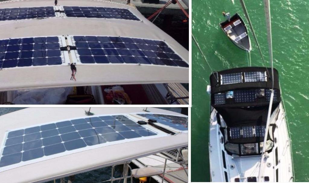 canvas solar panel