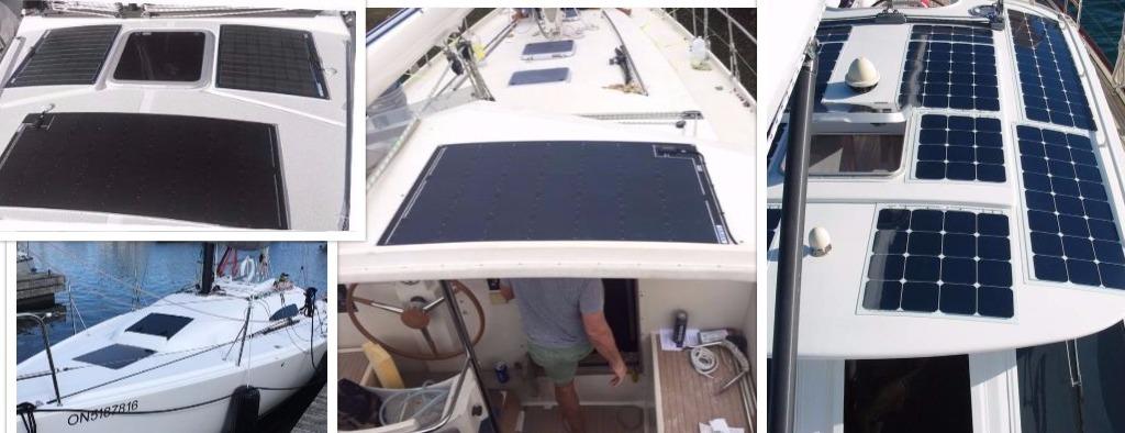 deck solar panel